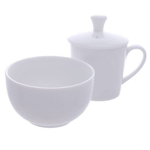 3 Piece Professional White Porcelain Tea Tasting Set